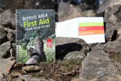 "St John publication 'Remote Area First Aid: Your field guide'. - Right click and choose ""Save As"" to download."