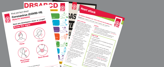 First Aid fact sheets